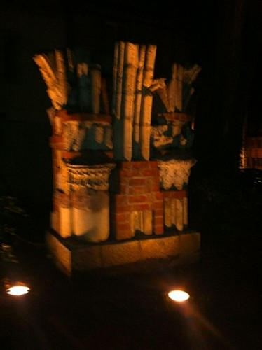 Vestiges romain du théâtre de Vesontio