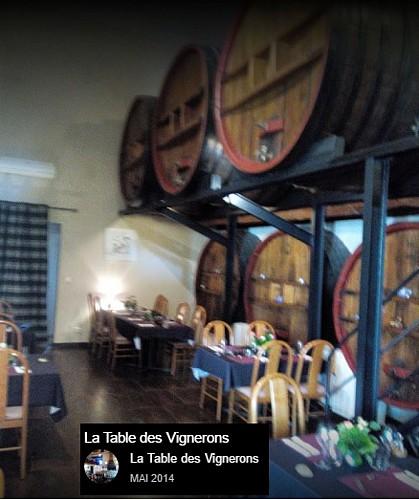 Restaurant La table des Vignerons - Trausse Minervois