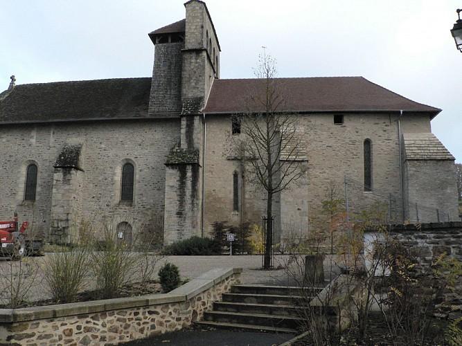 Church in Vicq sur Breuilh