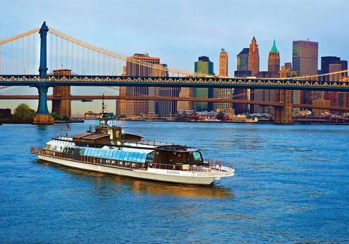 Déjeuner croisière à New York - En bateau vitré