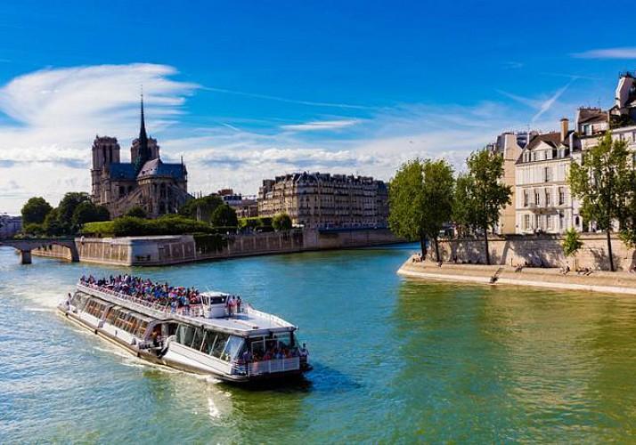 Crucero por el Sena – Con ½ botella de champán