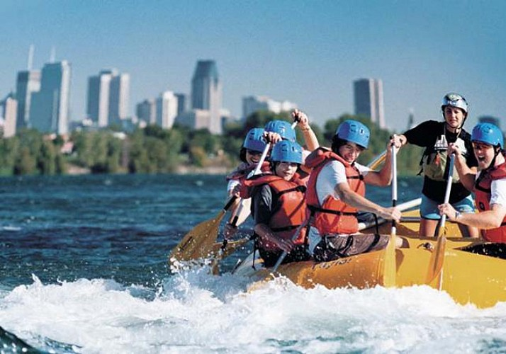 Rafting sur les rapides du Saint-Laurent à Montréal