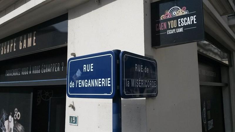 Caen You Escape game
