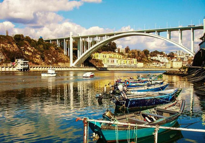 Visite guidée à vélo de Porto disponible en français - Tour privé ou partagé