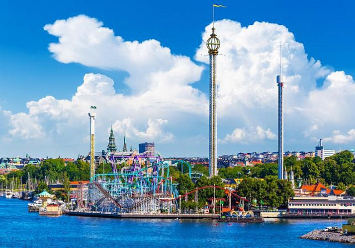 Visite guidée de Stockholm à pied et balade en bateau - Journée entière