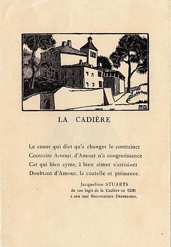 Maison de la Cadière