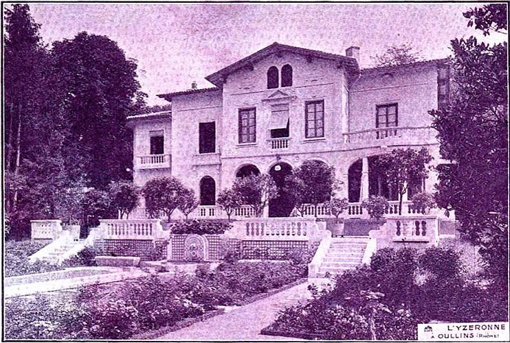 Maison Yzeronne