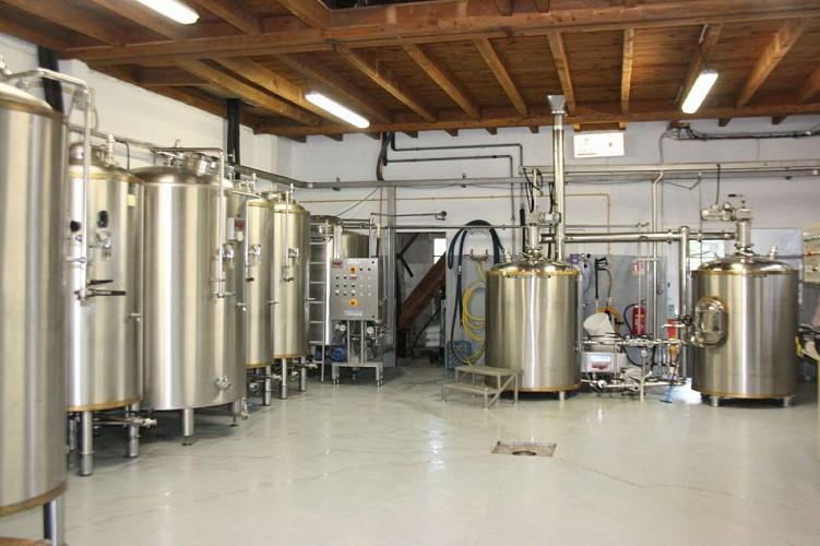 champagne 52 montier en der terroir bieres  salle de brassage mdt52.
