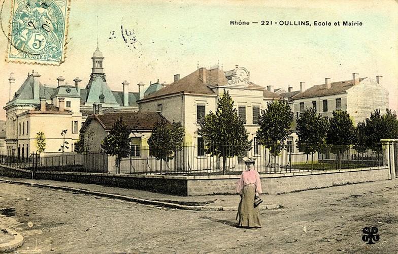 Rue Raspail et Hôtel de Ville