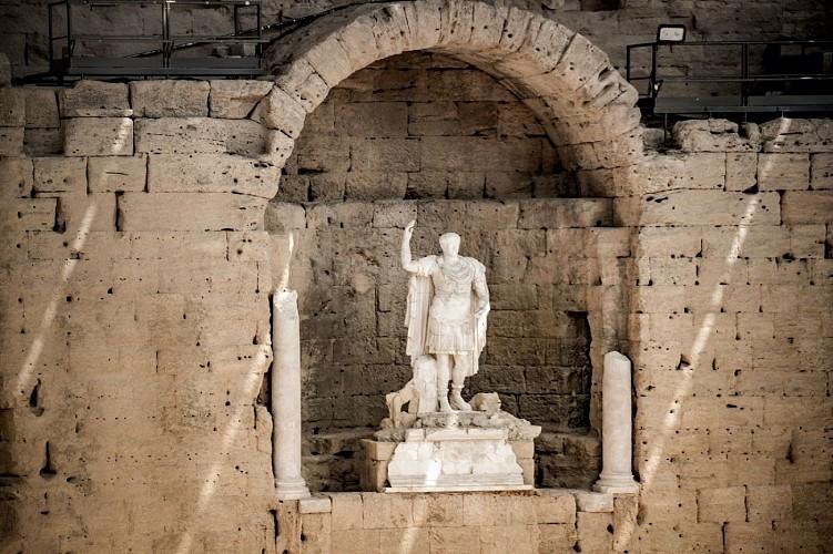 Antiken Theaters von Orange