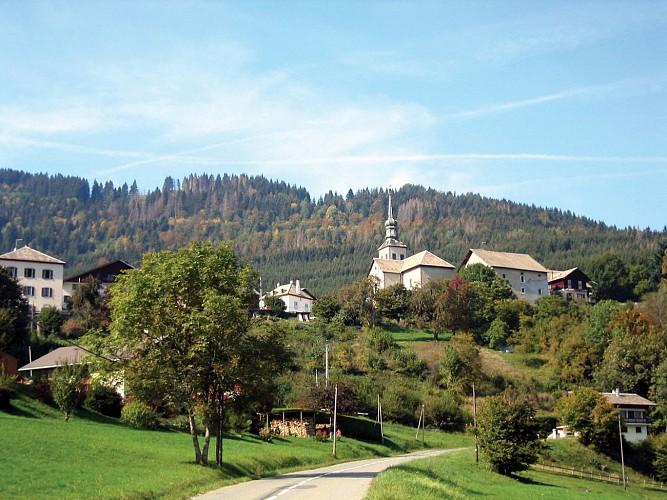 Reyvroz church