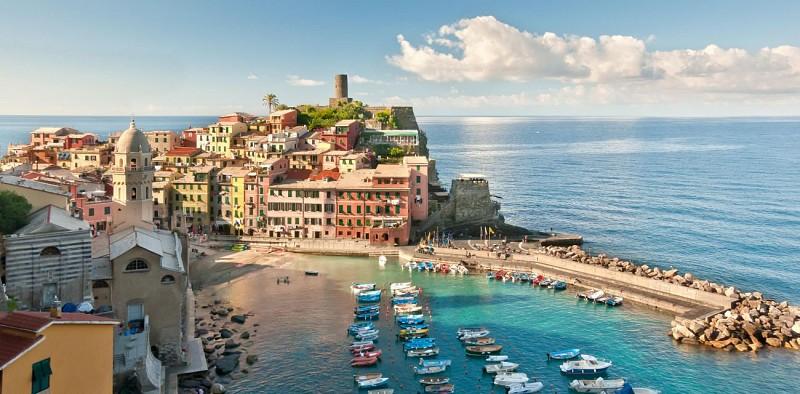 Ausflug nach Cinque Terre inklusive Bootstour - ab Florenz