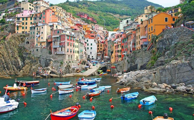 Excursión en Cinque Terre con en barco – Con salida desde Florencia