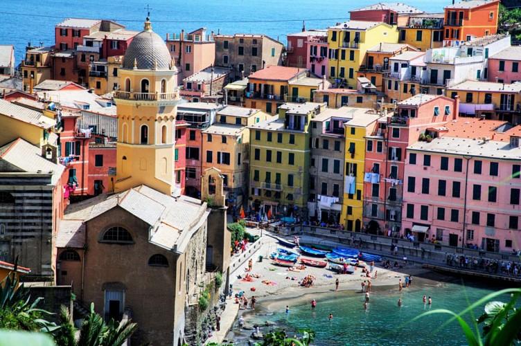 Escursione alle Cinque Terre con giro in barca - partenza da Firenze