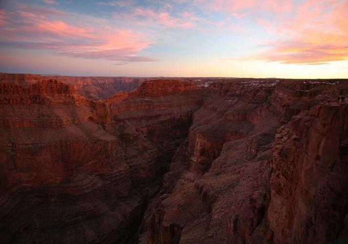 Survol en avion du Grand Canyon - Au départ du Grand Canyon South Rim (plateau sud)