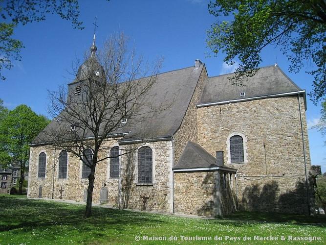 Nassogne - Collégiale Saint-Monon