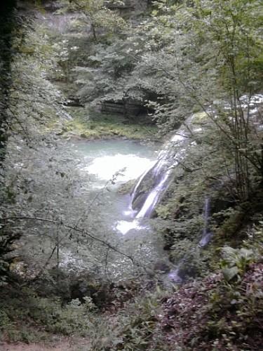 Escale près des chutes