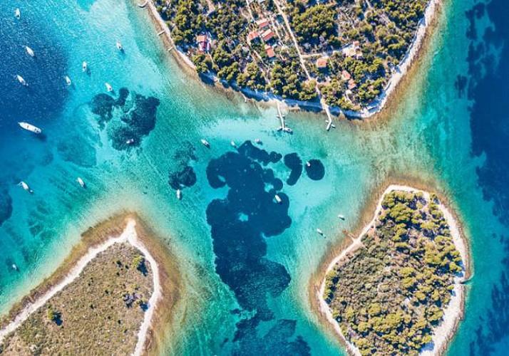 Excursion d'une demi-journée au Lagon Bleu - Au départ de Split