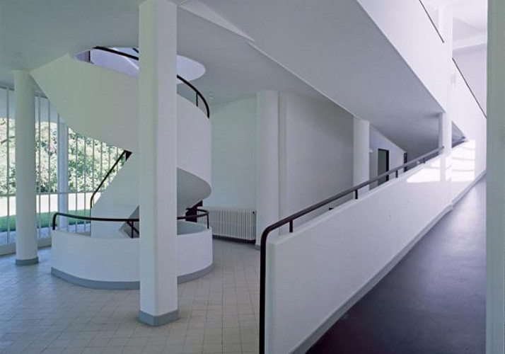 E-Ticket – The Villa Savoye by Corbusier