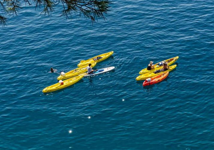Sea Kayaking on the Adriatic Sea in Split