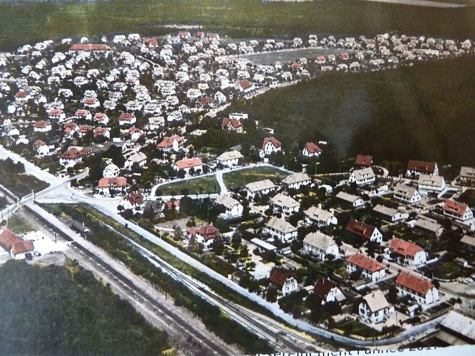 Cité Joseph Else (au premier plan)