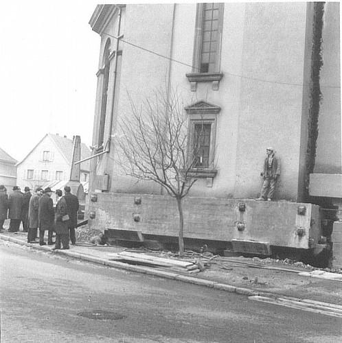 Relevage de l'Eglise St Michel