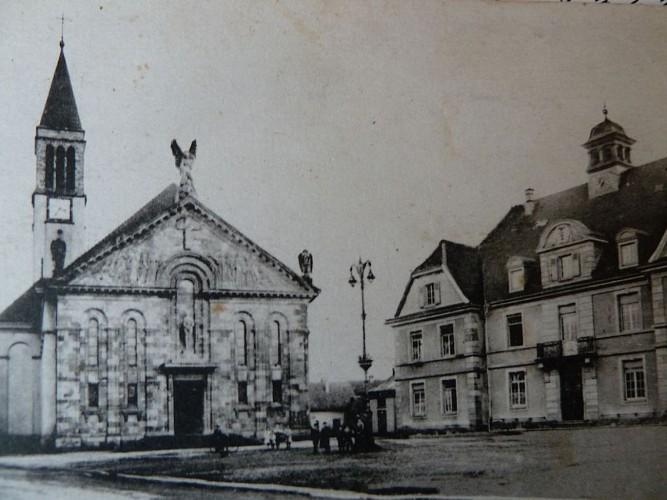 Eglise St Michel, vue ancienne