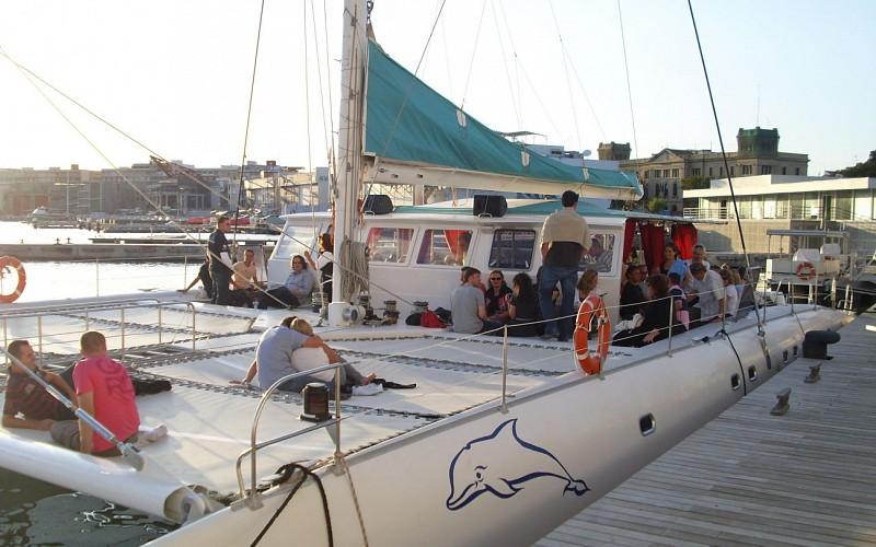 Catamaran Trip and Swimming in Malaga Bay