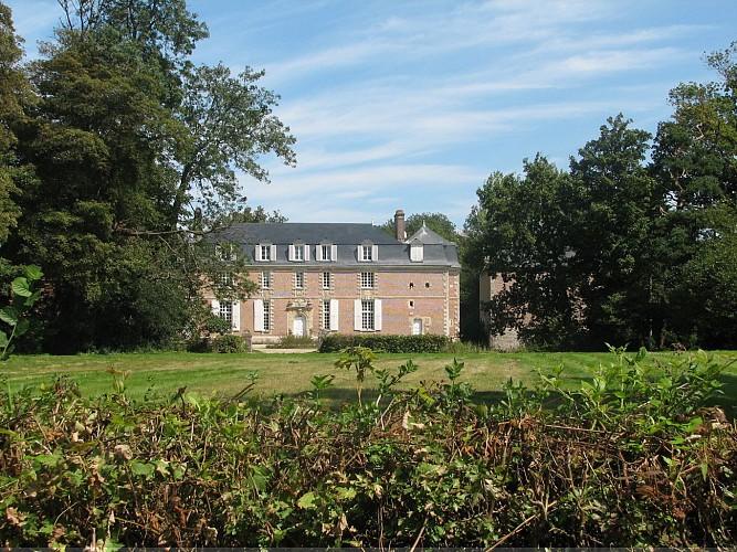 Le château d'Hougerville