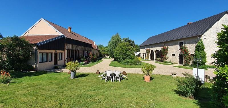 Beaulieu sur Loire-Domaine des Médards- vue générale -