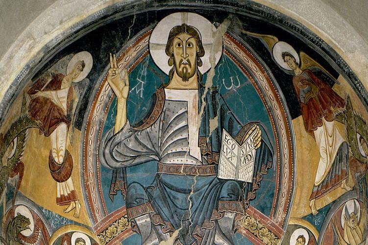 Apse of Sant Climent de Taüll