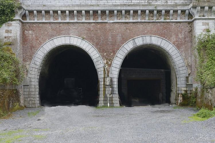Premier tunnel ferroviaire belge