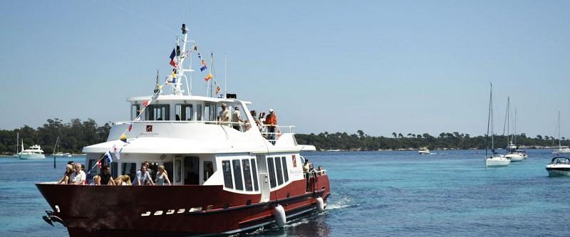 Traversée aller-retour vers l'île St Honorat - depuis Cannes