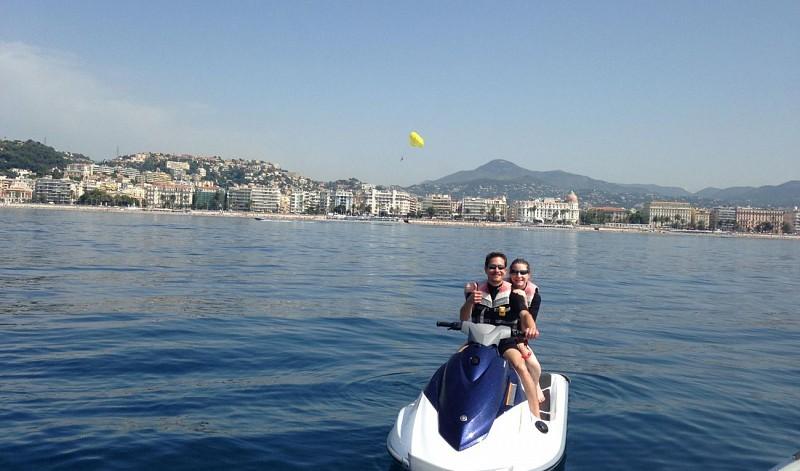 Balade en Jet Ski sur la Méditerranée - à 20min de Nice