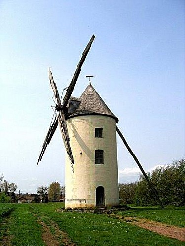 Moulin à vent du Gué ste Marie