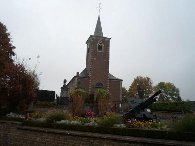 Eglise d'Orbais et Canon Piron