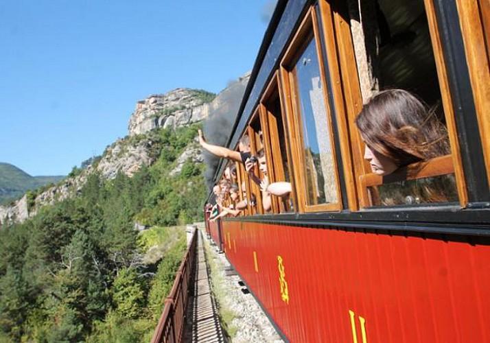 Billete de tren des Pignes (tren a vapor) – Trayecto ida/vuelta con salida de Puget Théniers (a 1:15 de Niza)