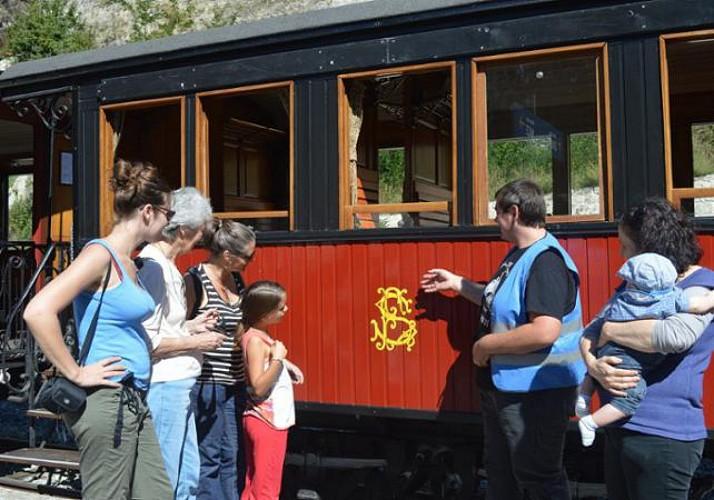Billet Train des Pignes à vapeur - Trajet A/R au départ de Puget Théniers (à 1h15 de Nice)