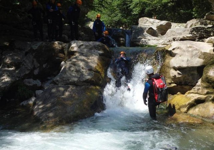 """Canyoning in the """"Valley of Wolves"""" – 50 minutes from Nice, Cannes and Antibes"""