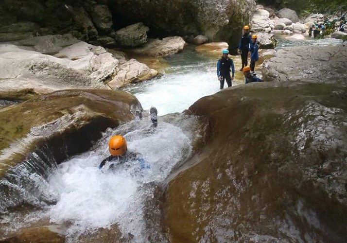 "Canyoning in the ""Valley of Wolves"" – 50 minutes from Nice, Cannes and Antibes"
