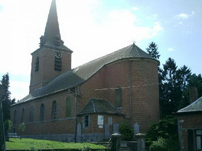 L'église de Roisin et le culte de Saint-Ghislain