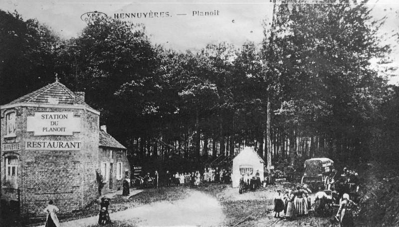 Ancienne gare du Planois