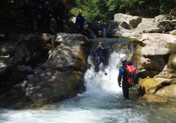 Aquatic Hike in the Gorges du Loup – 50 kilometres from Nice, Cannes and Antibes