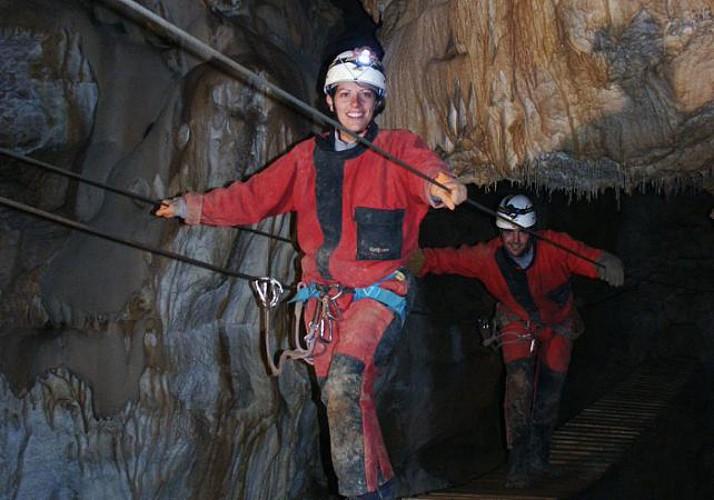 Via ferrata souterraine - à 55min de Grasse