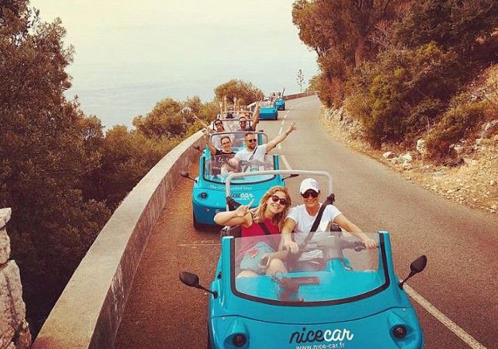 Excursion sur la French Riviera en voiturette Nicecar - 2h - Au départ de Nice