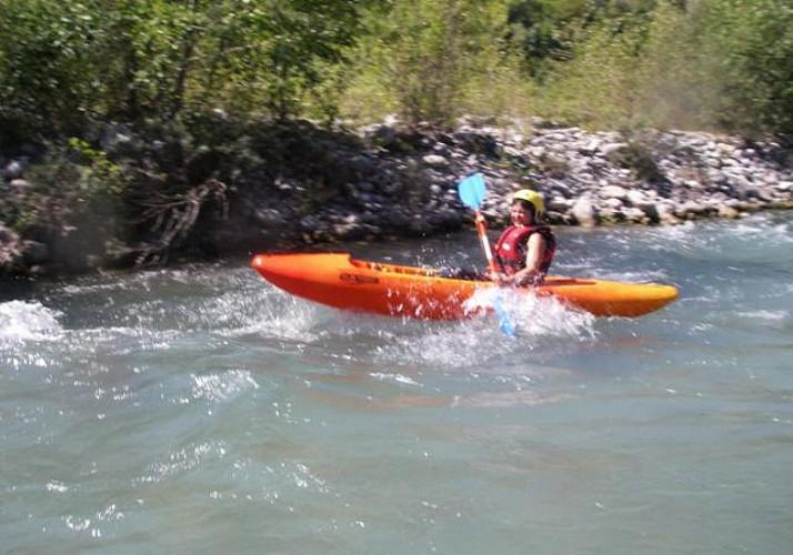 Descente sportive (libre ou encadrée) du Var en canoë kayak - à 1h de Nice