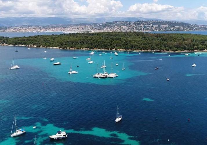 Traversée aller-retour vers l'île Sainte Marguerite - au départ de Cannes