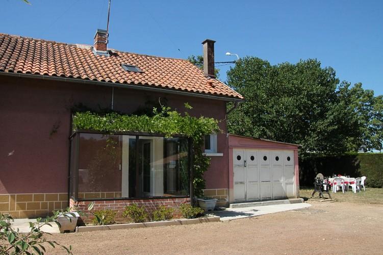 La Maison Rose d'Angliers