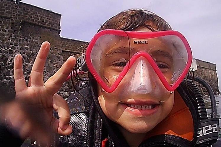Formation Plongée Enfant TETARDO (Qualification n°2) pour les 6/12 ans