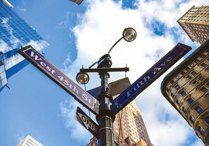 Jeu de piste dans Midtown Manhattan - En français